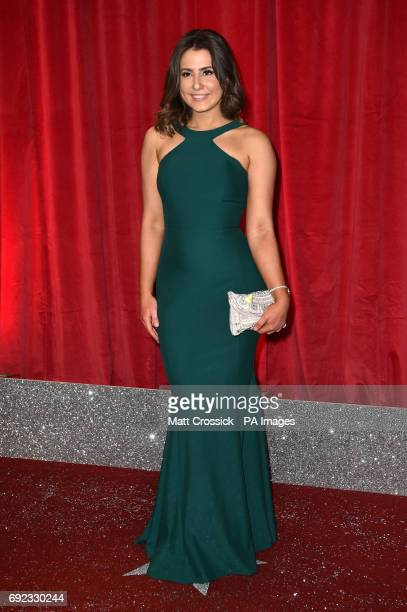 Jasmine Armfield attending the British Soap Awards 2017 at The Lowry Salford Manchester PRESS ASSOCIATION Photo Picture date Saturday 3 June 2017 See...