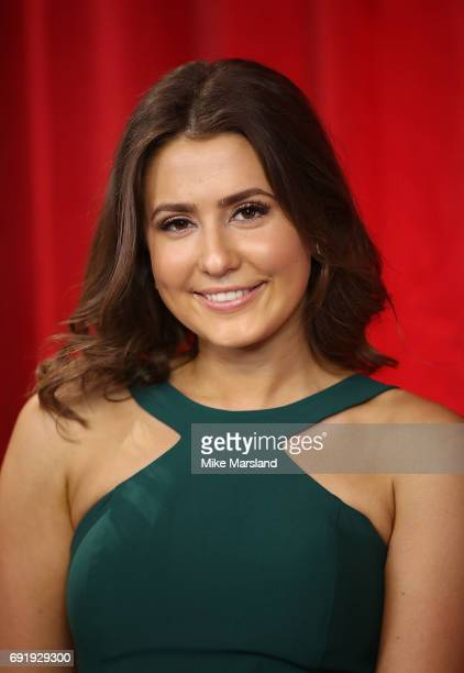 Jasmine Armfield attends The British Soap Awards at The Lowry Theatre on June 3 2017 in Manchester England The Soap Awards will be aired on June 6 on...