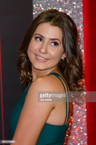 Jasmine Armfield attends the British Soap Awards at The Lowry Theatre on June 3 2017 in Manchester England