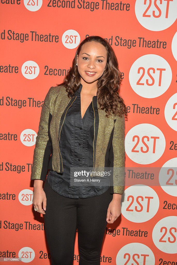 <a gi-track='captionPersonalityLinkClicked' href=/galleries/search?phrase=Jasmine+Cephas+Jones&family=editorial&specificpeople=12404531 ng-click='$event.stopPropagation()'>Jasmine Cephas Jones</a> attends 'Dear Evan Hansen' opening night at Second Stage Theatre on May 1, 2016 in New York City.