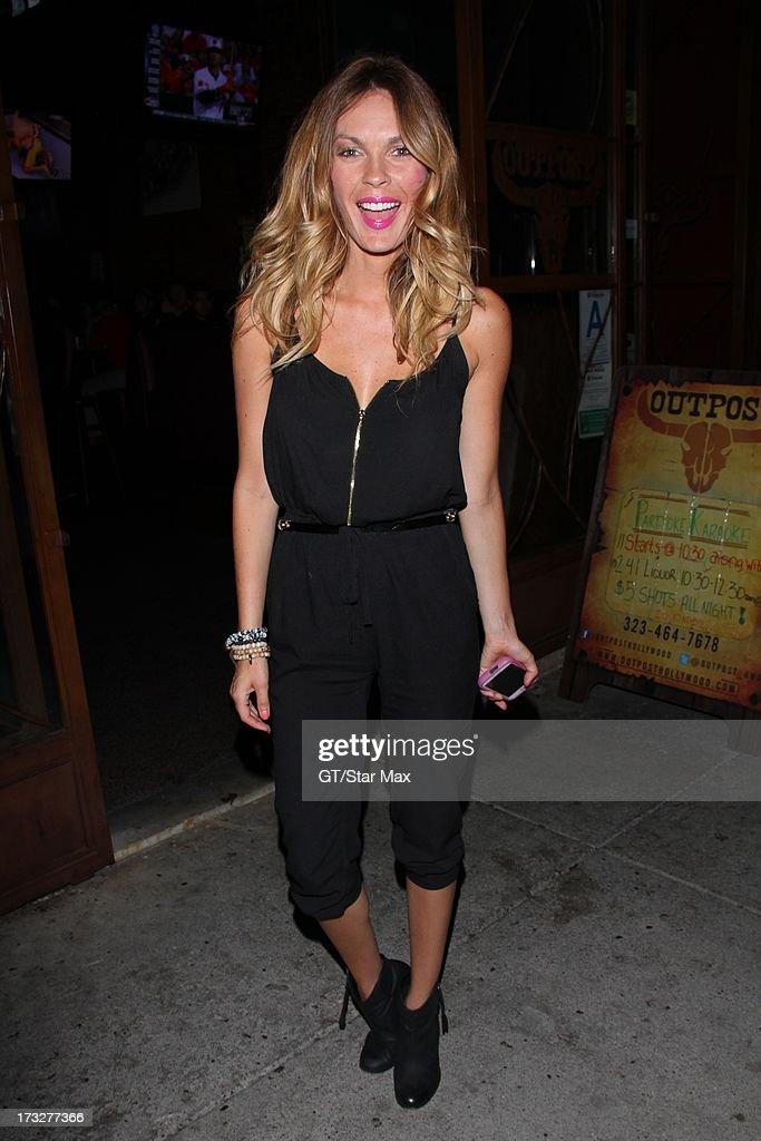 Jasmine Dustin as seen on July 10, 2013 in Los Angeles, California.