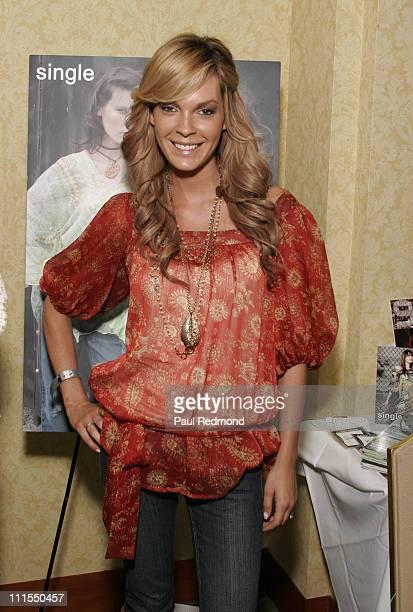 Jasmine Dustin during Melanie Segal's 2007 MTV Movie Awards Platinum Suite Day 1 at Le Meridien Hotel in Los Angeles California United States