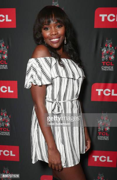 Jasmine Goode attends a 'Bachelor In Paradise' Viewing Party on August 21 2017 in Los Angeles California