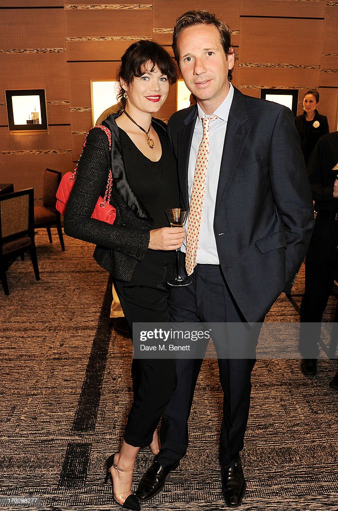 Jasmine Guinness (L) and Gawain Rainey attend a private view of the new CHANEL flagship boutique on New Bond Street on June 10, 2013 in London, England.