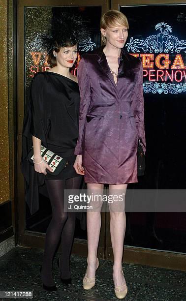 Jasmine Guinness and Jade Parfitt during Vegas Supernova Selfridges Launch Party at Selfridges in London Great Britain