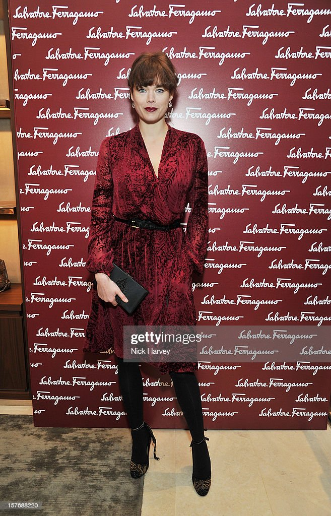 Jasmine Guinness attends a dinner at Burlington Arcade after the flagship store launch of Salvatore Ferragamo's Old Bond Street Boutique at 24 Old Bond Street on December 5, 2012 in London, England.