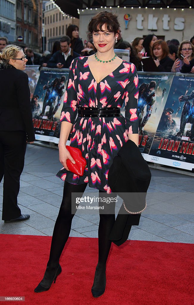 Jasmine Guinness attends a special screening of 'Iron Man 3' at Odeon Leicester Square on April 18, 2013 in London, England.