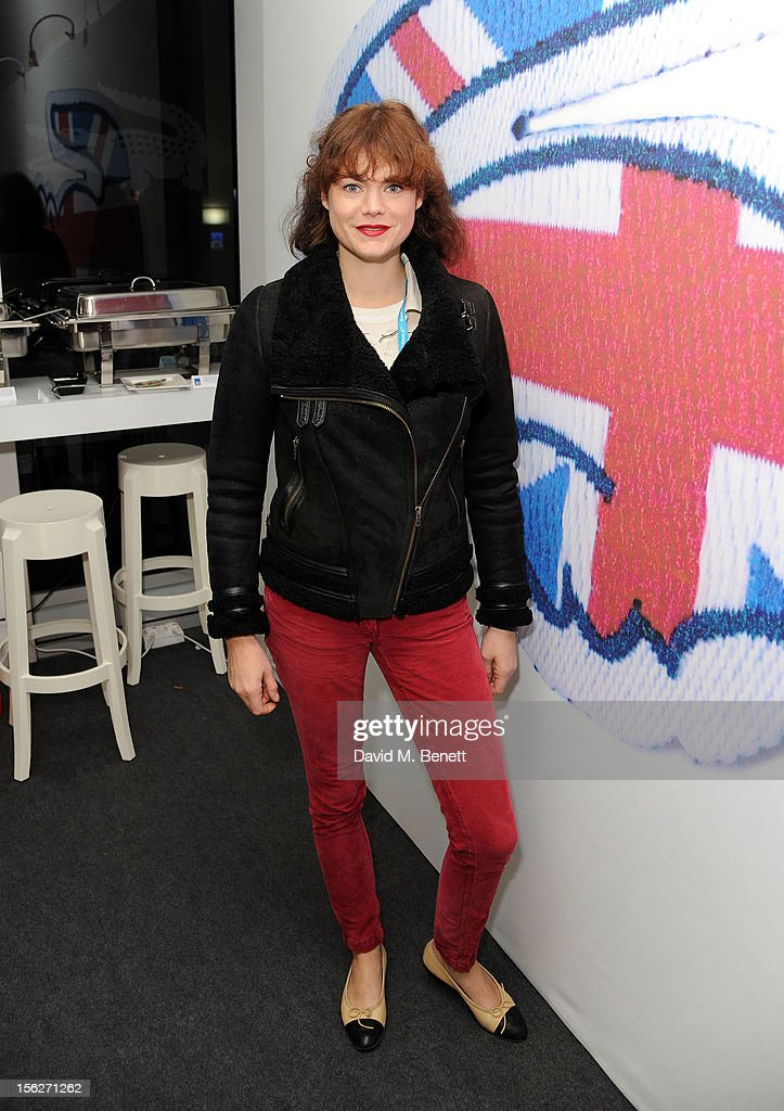 Jasmine Guinness attends the Lacoste VIP lounge during day eight of the ATP World Finals at the O2 Arena on November 12, 2012 in London, England.