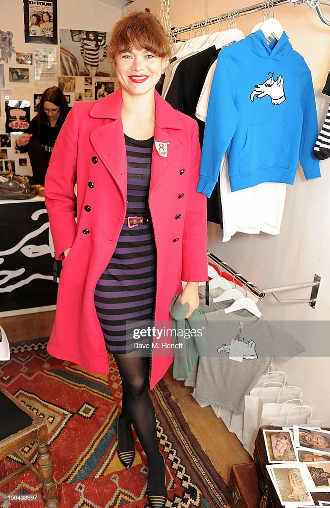 Jasmine Guinness attends the launch of the Bella Freud pop-up boutique at Bicester Village on November 15, 2012 in Bicester, England.