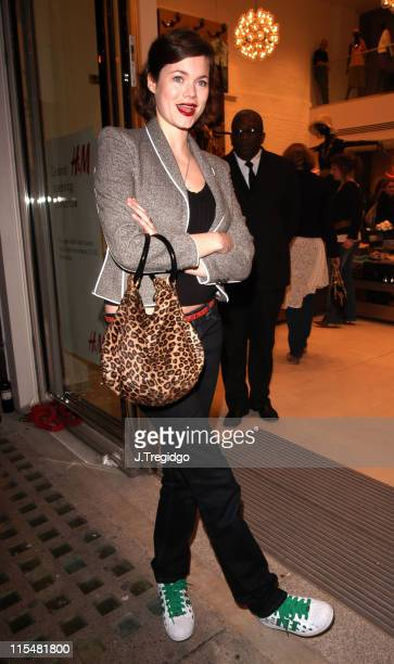 Jasmine Guinness during HM Flagship Store Launch Arrivals at HM Knightsbridge in London Great Britain