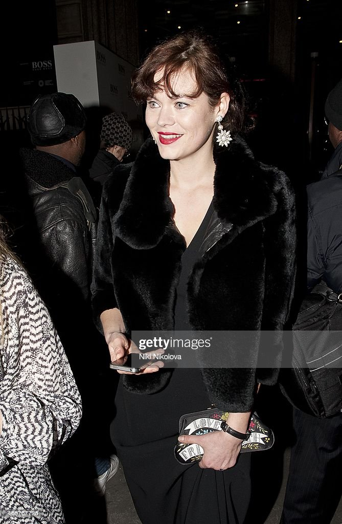 <a gi-track='captionPersonalityLinkClicked' href=/galleries/search?phrase=Jasmine+Guinness&family=editorial&specificpeople=206419 ng-click='$event.stopPropagation()'>Jasmine Guinness</a> is seen leaving the Portrait Gallery, Trafagar Sq on February 3, 2014 in London, England.