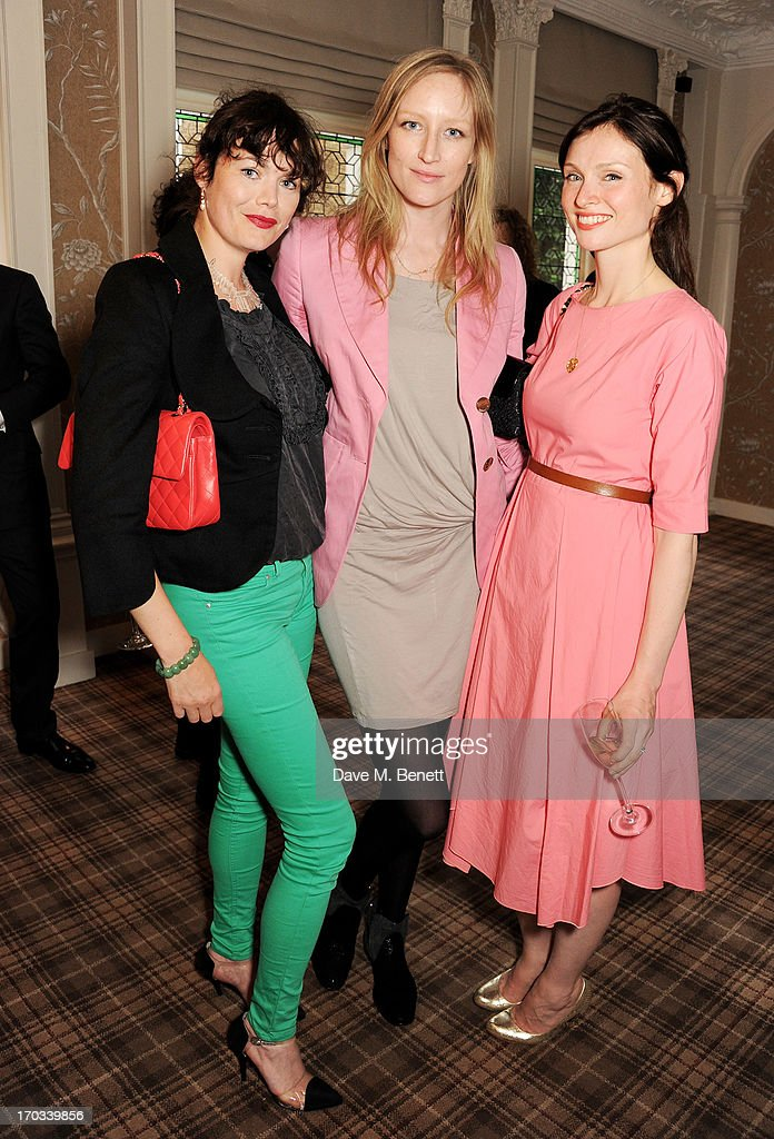 Jasmine Guinness, Jade Pariftt and Sophie Ellis-Bextor attend a private dinner previewing the new 'Alex James Presents' Blue Monday cheese at The Cadogan Hotel on June 11, 2013 in London, England.