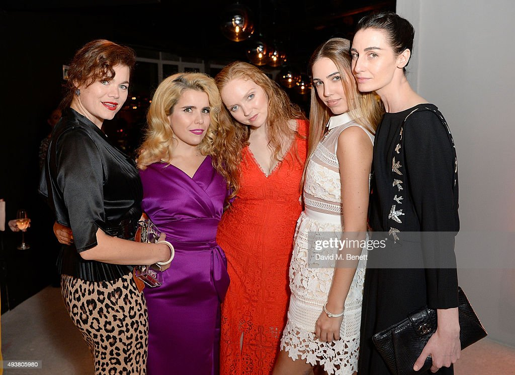 Jasmine Guinness, Paloma Faith, Lily Cole, Amber LeBon and Erin O'Connor attend the opening of new landmark 41-storey development, South Bank Tower, with an exclusive event in the penthouse complete with a private performance by Paloma Faith, at South Bank Tower on October 22, 2015 in London, England.