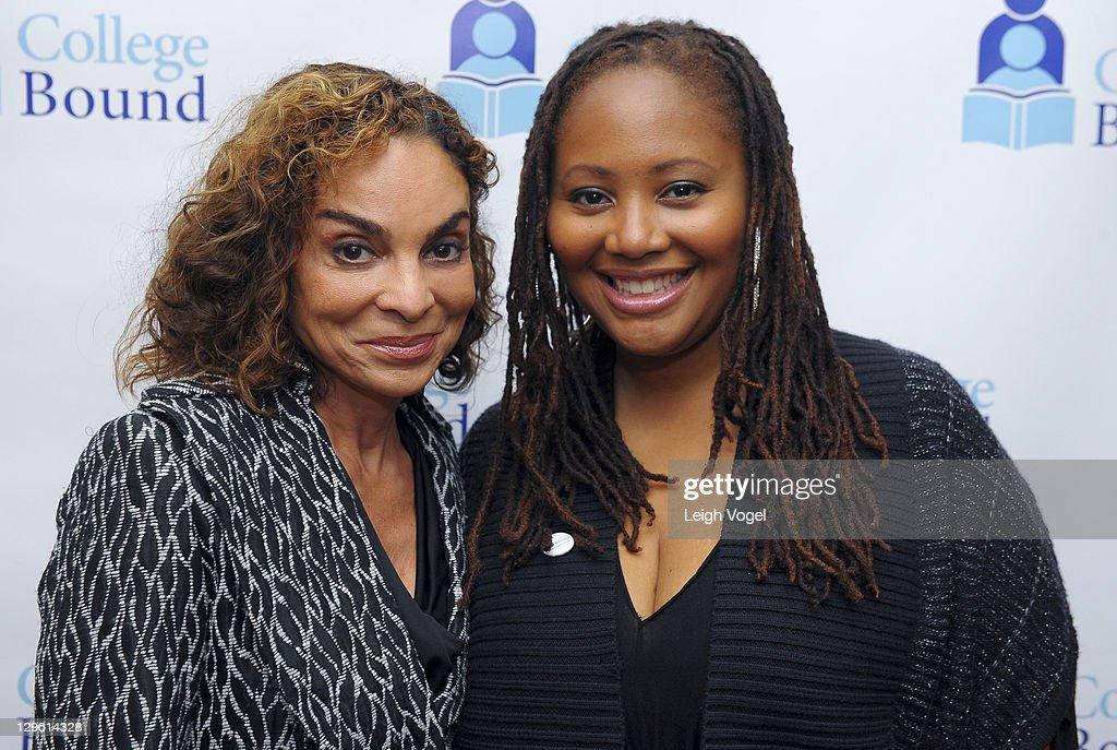 Jasmine Guy and Lalah Hathaway attends the College Bound 20th Anniversary Celebration at the Hyatt Regency on Capital Hill on October 18, 2011 in Washington, DC.