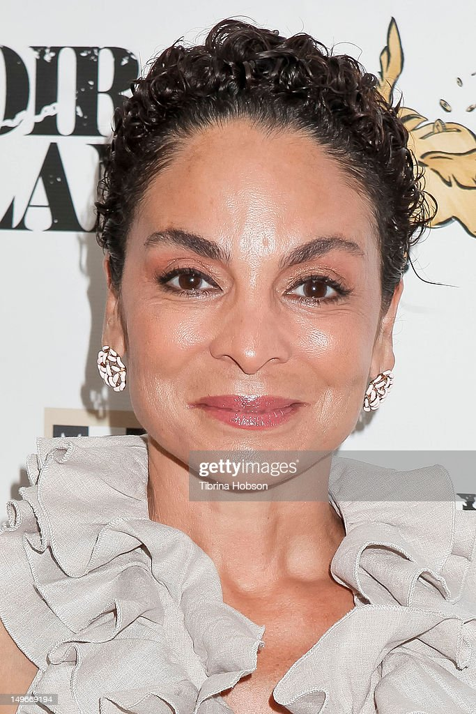 Jasmine Guy attends the screening of the short film 'Mulatto Saga' on August 1, 2012 in Culver City, California.