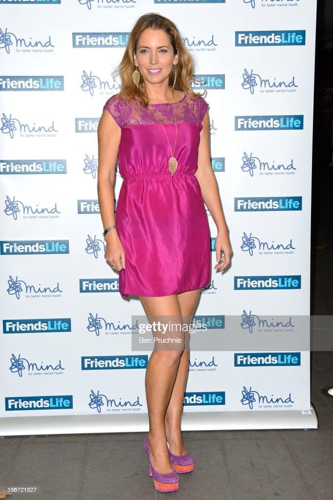Jasmine Harman attends the Mind Mental Health Media Awards at BFI Southbank on November 19, 2012 in London, England.
