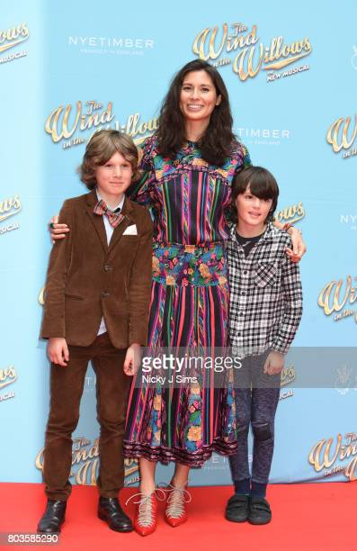 Jasmine Hemsley and family attends the Gala performance of Wind In The Willows at London Palladium on June 29 2017 in London England