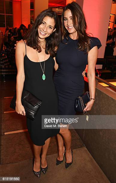 Jasmine Hemsley and Lisa Snowdon attend the Red Women Of The Year Awards in association with Clinique at The Skylon on October 17 2016 in London...