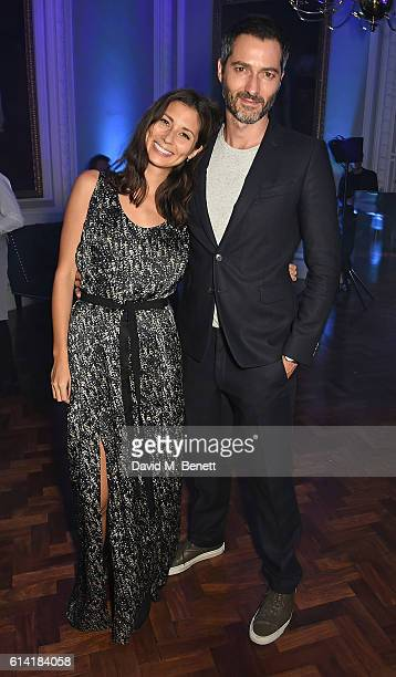 Jasmine Hemsley and Nick Hopper attend the launch of the Esquire Townhouse with Dior on October 12 2016 in London England