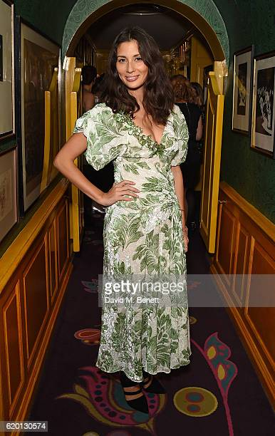 Jasmine Hemsley attends a private dinner hosted by Annabel's celebrating the 125th anniversary of The Dog's Trust on November 1 2016 in London England