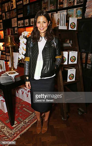 Jasmine Hemsley attends as Farfetch celebrate the launch of new book 'Farfetch Curates Food' at Maison Assouline on March 24 2015 in London England