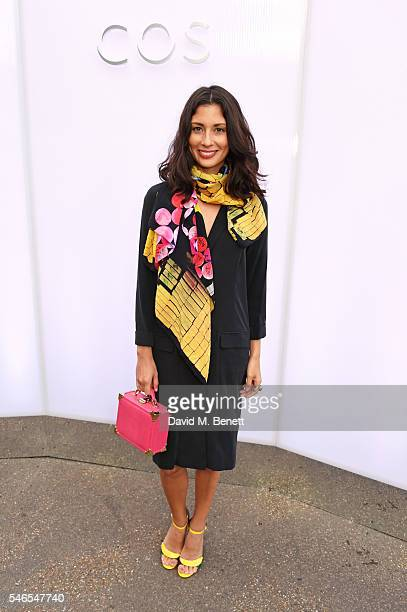 Jasmine Hemsley attends the COS celebrates The Serpentine Park Nights 2016 at The Serpentine Gallery on July 12 2016 in London England