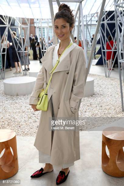 Jasmine Hemsley attends the COS celebration of The Serpentine Parks Nights 2017 at The Serpentine Pavilion on July 12 2017 in London England