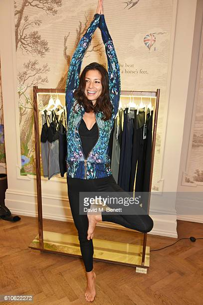 Jasmine Hemsley attends the launch of 'Forward For Rocco Forte Fitness' hosted by Irene Forte at Brown's Hotel on September 27 2016 in London England
