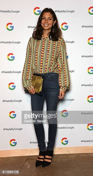 Jasmine Hemsley attends the launch of Google's new phone 'Pixel' with an exclusive live performance from Craig David in front of a starstudded...