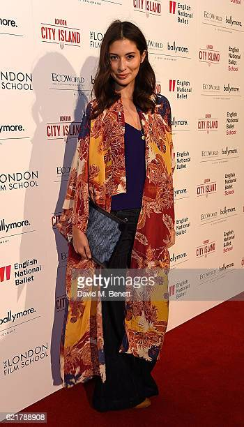 Jasmine Hemsley attends the opening of London City Island the capital's new cultural neighbourhood on November 8 2016 in London United Kingdom