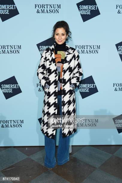 Jasmine Hemsley attends the opening party of Skate at Somerset House with Fortnum Mason on November 14 2017 in London England London's favourite...