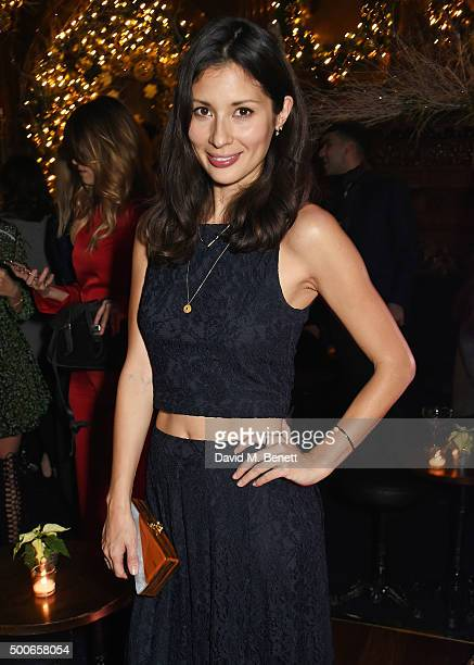 Jasmine Hemsley attends the Sunday Times Style Christmas Party at Tramp on December 9 2015 in London England