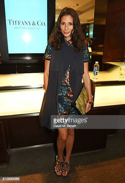 Jasmine Hemsley attends the Tiffany Co and GQ Style celebration of the Autumn/Winter issue of GQ Style and the iconic Tiffany CT60 watches collection...