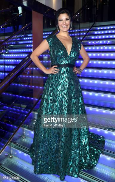 Jasmine Hyde attends The Unseen Premiere at Vue Piccadilly on November 14 2017 in London England