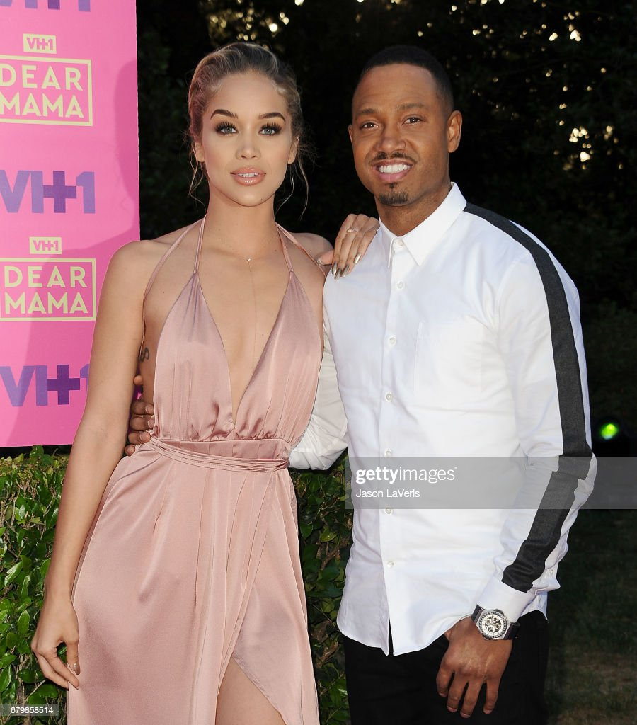 Jasmine Sanders and Terrence J attend VH1's 2nd annual 'Dear Mama: An Event to Honor Moms' on May 6, 2017 in Pasadena, California.