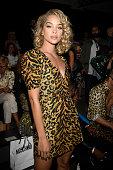 Moschino - Front Row - Milan Fashion Week Spring/Summer...