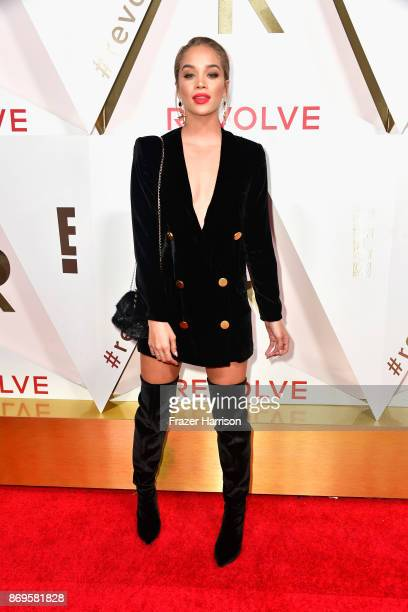Jasmine Sanders attends the #REVOLVEawards at DREAM Hollywood on November 2 2017 in Hollywood California