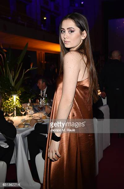 Jasmine Thompson attends Firenze4ever 14th Edition Party hosted by LuisaViaRoma on January 9 2017 in Florence Italy