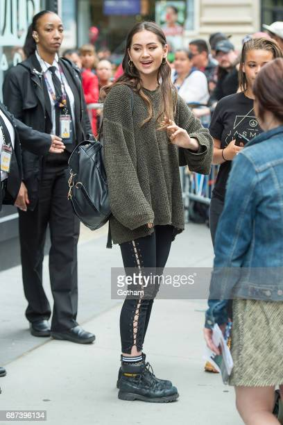 Jasmine Thompson is seen in NoHo on May 23 2017 in New York City