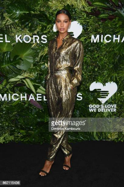 Jasmine Tookes attends the 11th Annual Golden Heart Awards benefiting God's Love We Deliver on October 16 2017 in New York City