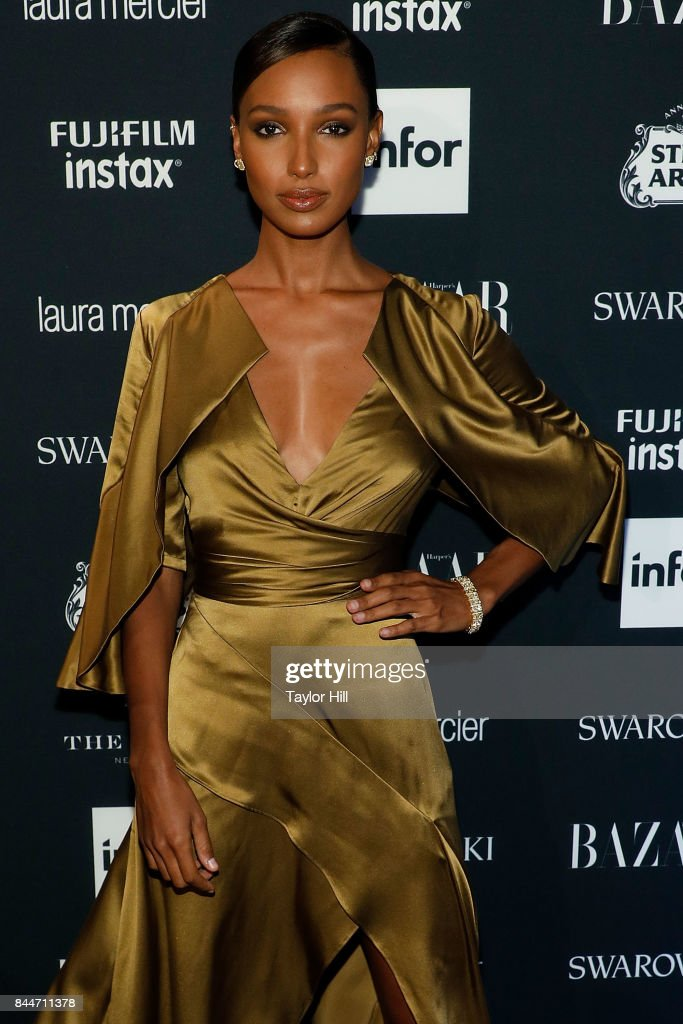Jasmine Tookes attends the 2017 Harper ICONS party at The Plaza Hotel on September 8, 2017 in New York City.