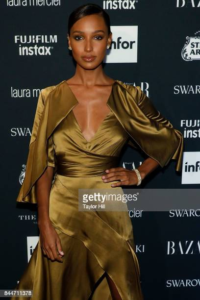 Jasmine Tookes attends the 2017 Harper ICONS party at The Plaza Hotel on September 8 2017 in New York City