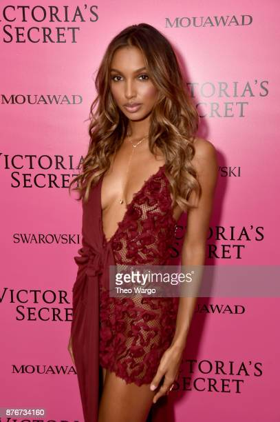 Jasmine Tookes attends the 2017 Victoria's Secret Fashion Show In Shanghai After Party at MercedesBenz Arena on November 20 2017 in Shanghai China