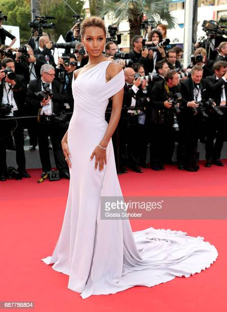 Jasmine Tooks attends the 'The Beguiled' screening during the 70th annual Cannes Film Festival at Palais des Festivals on May 24 2017 in Cannes France