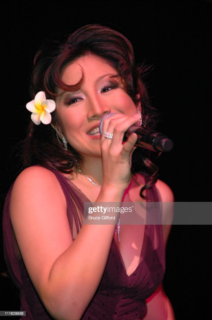 Jasmine Trias during Jasmine Trias Lands Her Show at The Flamingo Hotel in Las Vegas with The Society of Seven - February 21, 2007 at The Flamingo Hotel in Las Vegas, California, United States.