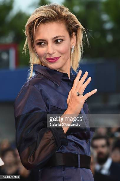 Jasmine Trinca arrives at the Award Ceremony of the 74th Venice Film Festival at Sala Grande on September 9 2017 in Venice Italy