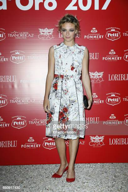 Jasmine Trinca attends Ciak D'Oro 2017 at Link Campus University on June 8 2017 in Rome Italy