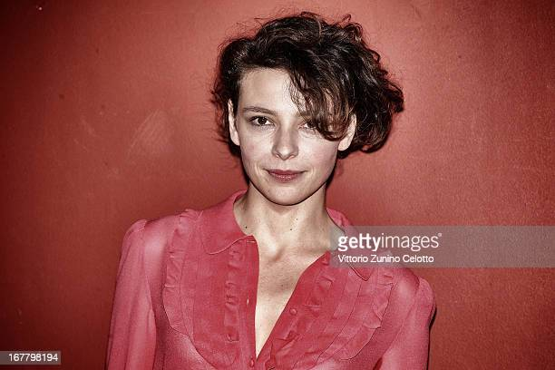 Jasmine Trinca attends 'Miele' Photocall on April 30 2013 in Milan Italy
