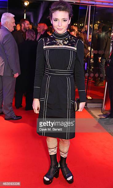 Jasmine Trinca attends the World Premiere of 'The Gunman' at BFI Southbank on February 16 2015 in London England