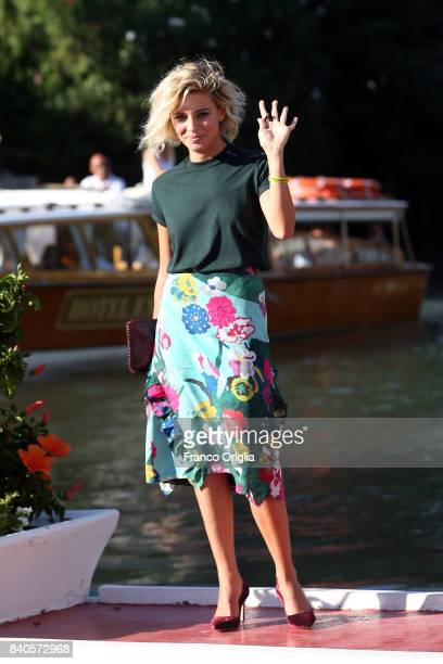 Jasmine Trinca is seen ahead of the 74th Venice Film Festival on August 29 2017 in Venice Italy